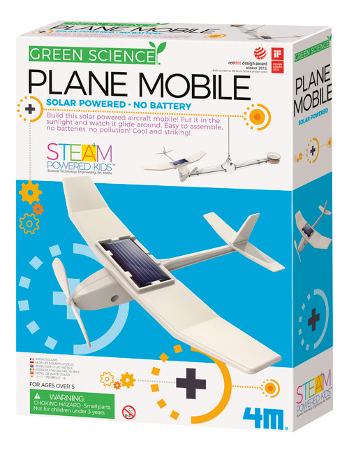 Solar-powered Plane Mobile Kit
