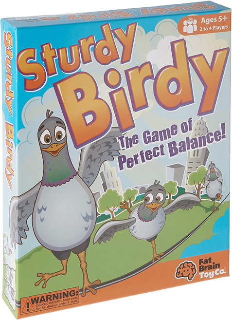 Sturdy Birdy: The Game of Perfect Balance