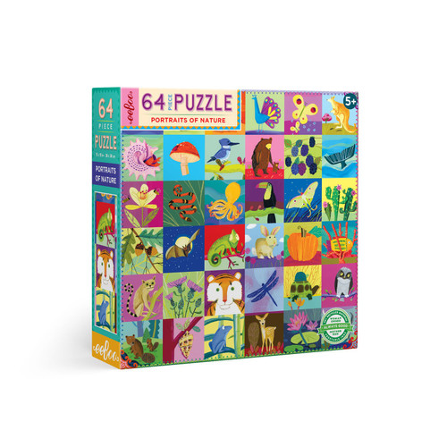 Portraits of Nature 64-piece Jigsaw Puzzle