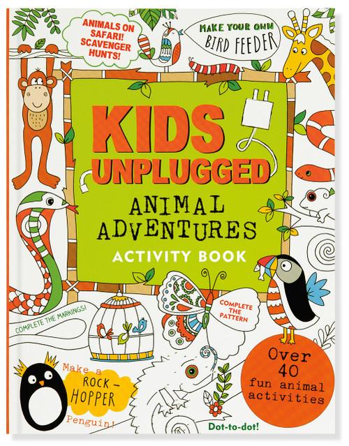 Kids Unplugged: Animal Adventures Activity Book