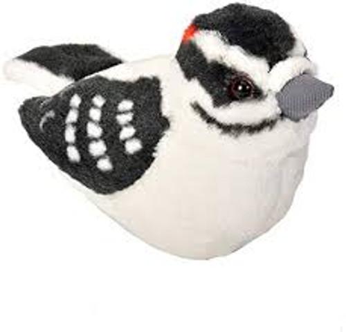 Downy Woodpecker Plush with Sound