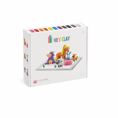 Hey Clay Animal Clay Set with App Directions and guidance