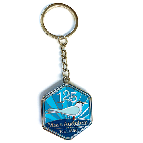 Mass  Audubon 125th Anniversary Keychain