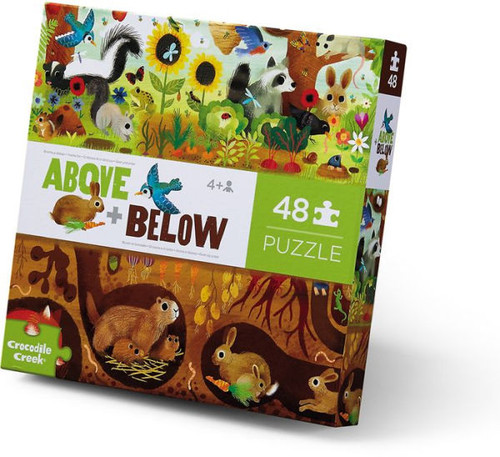Above & Below Backyard Discovery 48 piece Puzzle