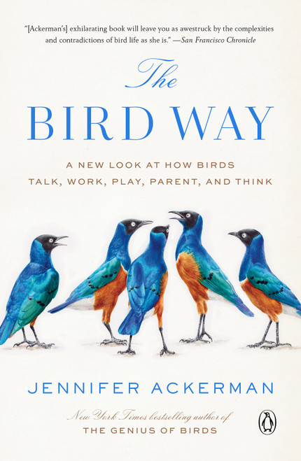 The Bird Way : A New Look at How Birds Talk, Work, Play, Parent and Think