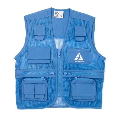 Explorer Vest for Kids with Mass Audubon Logo