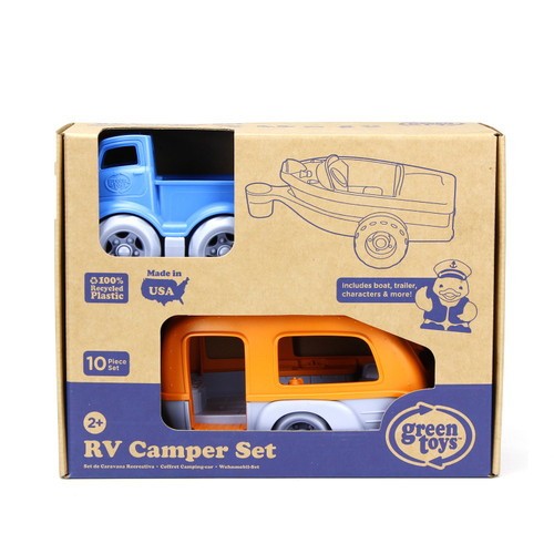 RV Camper Playset made of recycled plastic