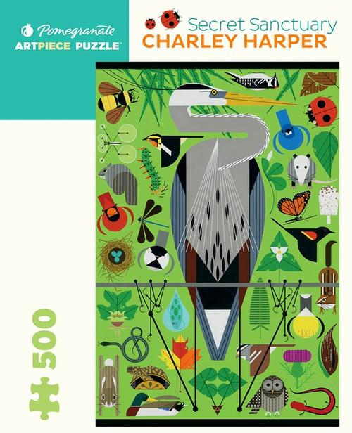 Charley Harper: Secret Sanctuary 500 piece Puzzle