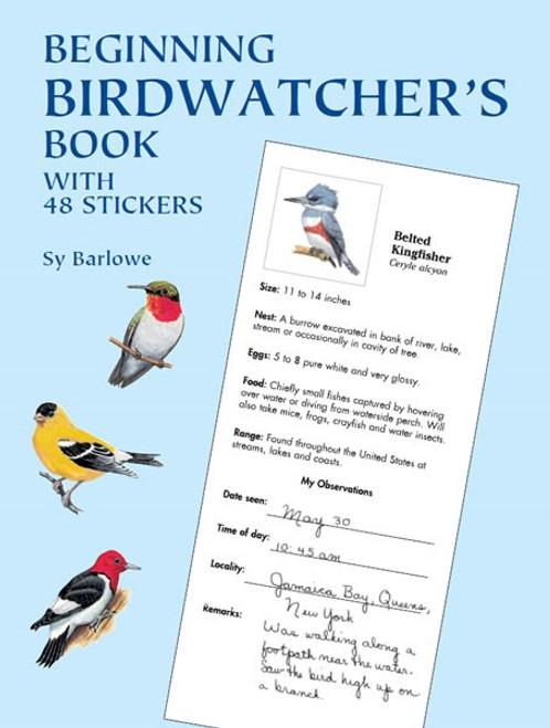 Begining Birdwatcher's Book with 48 Stickers