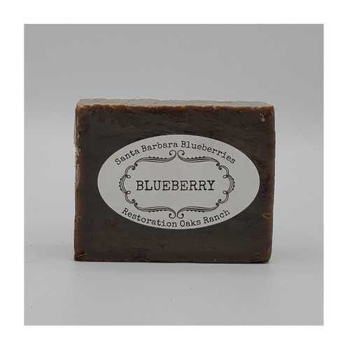Organic Blueberry Soap