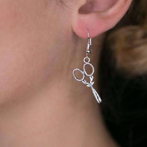 Thread Scissor Earrings