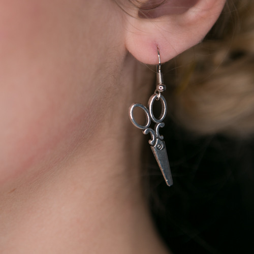 Fancy Scissor Earrings