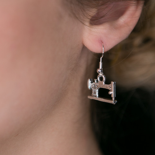 Decorative Sewing Machine Earrings