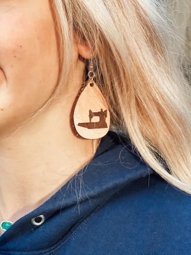 New Dangle Leather Earrings