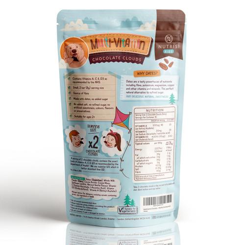 Multivitamin sugar free chocolate for kids
