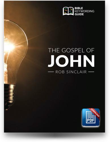 The Gospel of John: Bible Keywording Guide (Digital Download) Copyright Protected