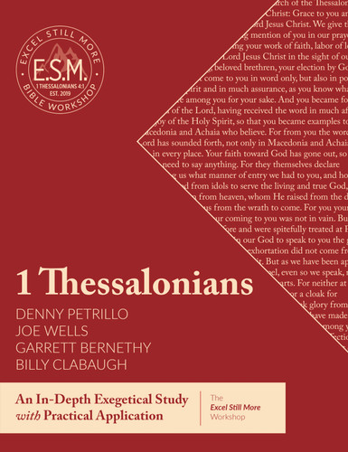 Cover of the Excel Still More Bible Workshop 2020 book: 1 Thessalonians