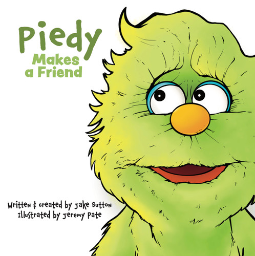 """Image of the cover of """"Piedy Makes a Friend"""""""