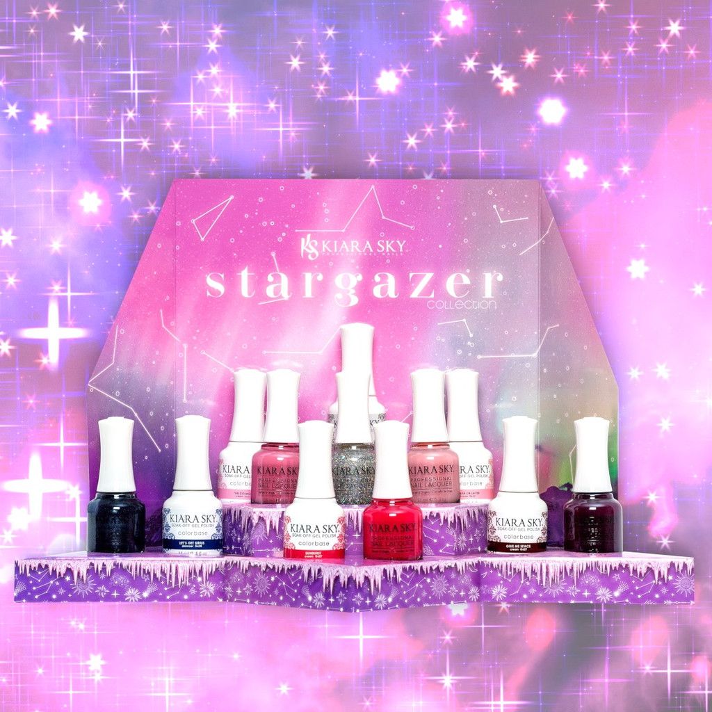 STARGAZER COLLECTION IN GEL AND LACQUER