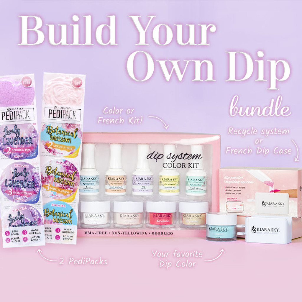 BUILD YOUR OWN DIP POWDER BUNDLE!