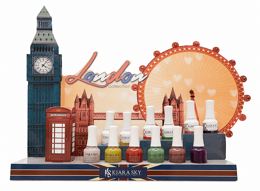 LONDON COLLECTION IN GEL AND LACQUER