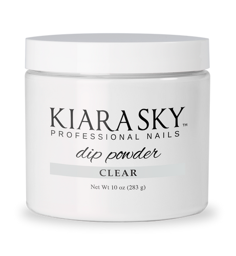 10oz DIP POWDER - CLEAR