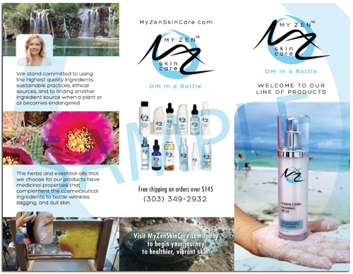 Brochures: My Zen Skin Care