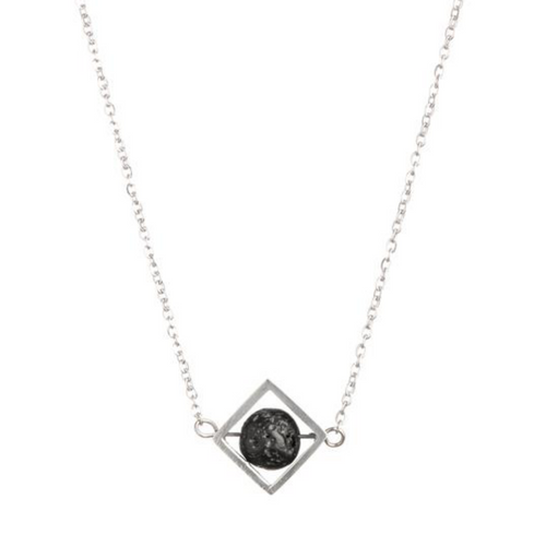 NEW silver necklace for essential oils