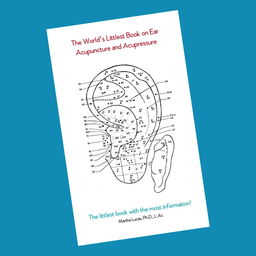 The World's Littlest Book on Ear Acupuncture and Acupressure (Physical Book)