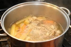 Basic Chicken Soup Stock