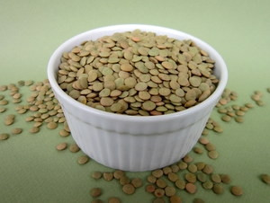 Lentils Green Certified Organic Non-GMO Sprouting Seeds