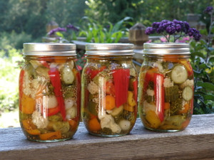 Vinegar Veggies