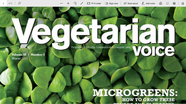 Growing Microgreens by Mark Braunsetain