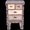 AF060  Cabinet 4 Drawer 45x35x75cm