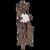 MET107  Toilet Roll Holder Standing 76x22cm