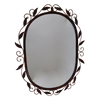 Mirror Oval Metal 66x51cm