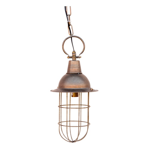 LE056  Lamp Metal Hang 20 x 51cm (excl. chain)