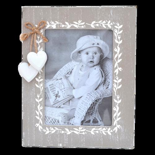 LE062  Frame Hearts 25x20cm