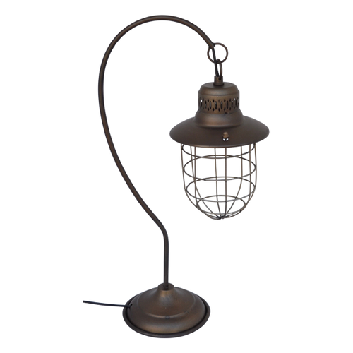 LE070  Table Lamp Cage 18x28x60cm