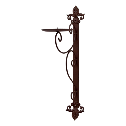 MET057  Candle Holder Wall 8x47cm