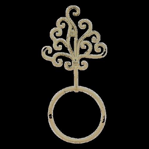 MET078  Towel Ring Holder 15 x 33cm
