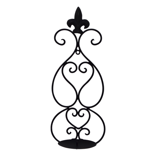 MET082  Candle Holder Wall 15x37cm