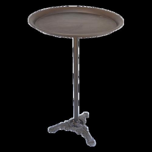 T061  Table Metal Round 40 x 61cm