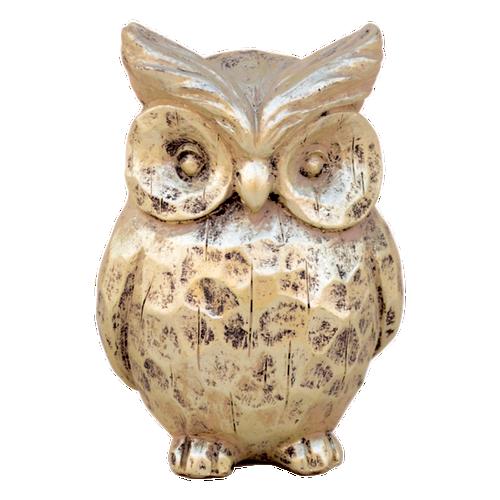 VAD027  Owl Large 8 x 15cm