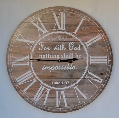 HOR069 Clock Wall 58cm