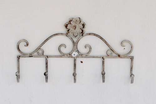 MET123 5 Hooks Wall 22x13cm