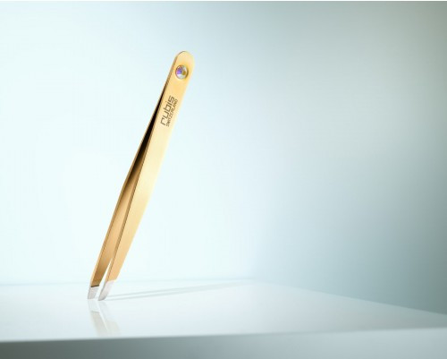 TWEEZERS SWAROVSKY GOLD DIAMOND