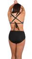 Bikini Bottom, High waist bikini bottom, retro bottom, plus size bikini bottom