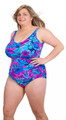 Women's Plus Underwire One Piece Designed for E-I Bra Cups #3008W Sizes 18-28