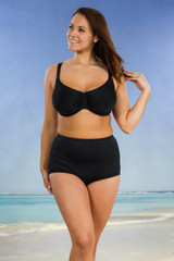 custom made underwire swimbra bikini top made in usa designed to fit and feel comfortable and supportive like your bra. Modest coverage size aa a b c d dd e f g bra cup sizes